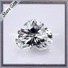Super White Heart Shape Moissanite Diamond Loose Stone